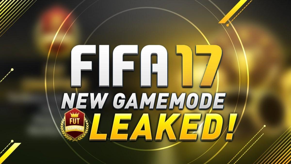Nuevo Modo de Juego: FUT Champions - FUT17