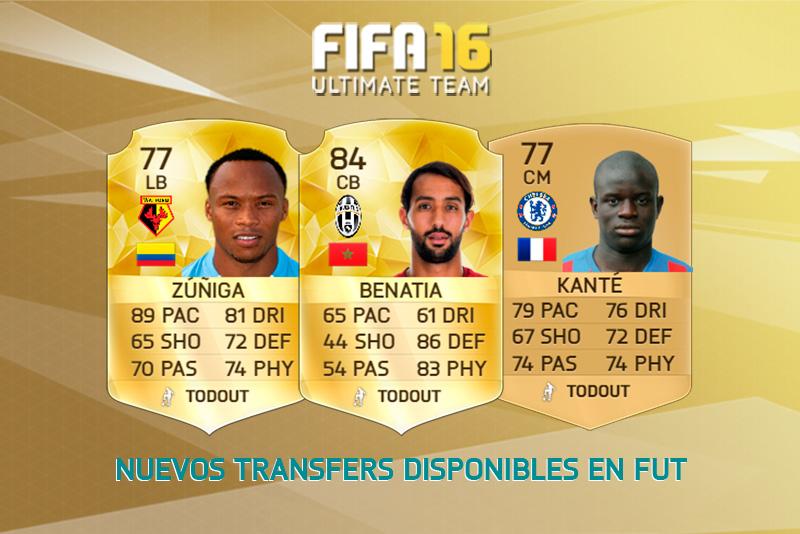 Transfers FIFA 16 20-07-16