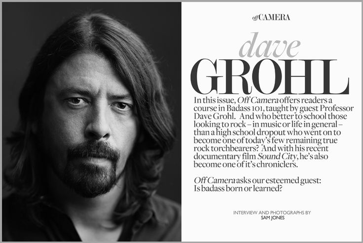 Grohl Badass 101