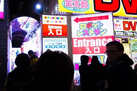 Robot Restaurant in Kabukicho