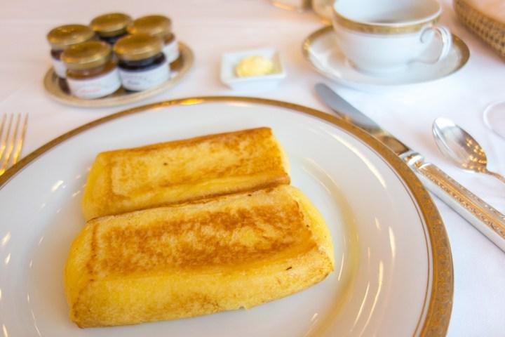 ホテルオークラ フレンチトースト