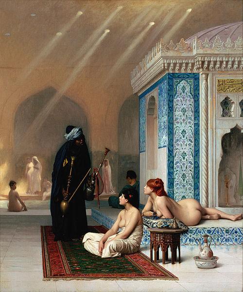 Jean-Léon Gérôme, Pool in a Harem c. 1876