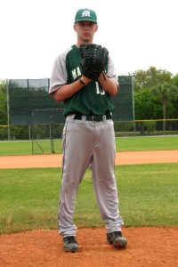 David Tarr scattered six hits and K'd six in a complete game 5-2 victory over the Holyoke CC Cougars.