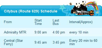 Citybus Route629