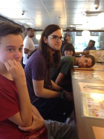 Waffle House 1 (the mood was electric)