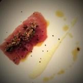 tuna crudo olive tapenade lemon aioli