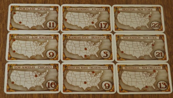 Destination Cards
