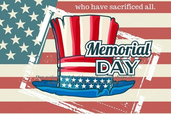 Memorial Day ~ A Day of Remembrance