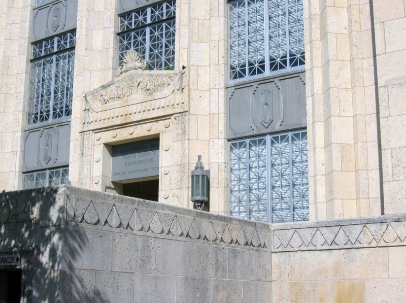 Large Of Travis County Courthouse