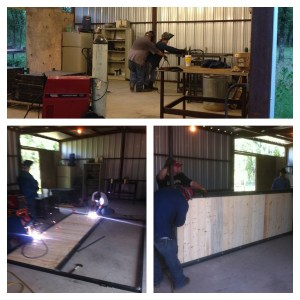 welding, horse stalls, panels, weatherford, texas, ncha, aqha, preifert, powder river, teskeys, horses, barn, trainer, professional, fabrication, metal,