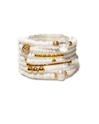 Tiny Tookeys - white seed and gold 7 stack1