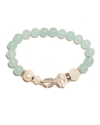 Classic Ice Blue Bracelet (Stretch)