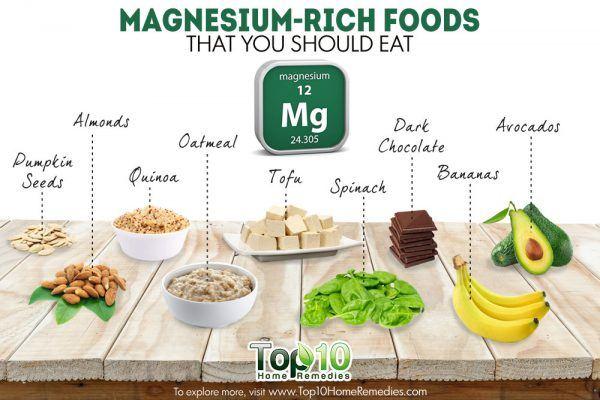 10 best magnesium rich foods