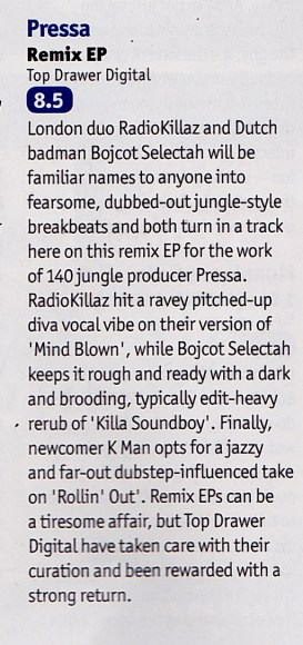 8.5/10 DJ Mag Review