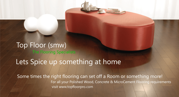 Lets Spice something up at home - the floor