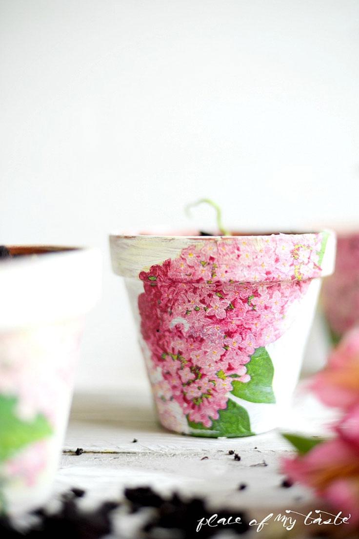 Top 10 DIY Gorgeous Ways to Decorate your Terra Cotta Pots