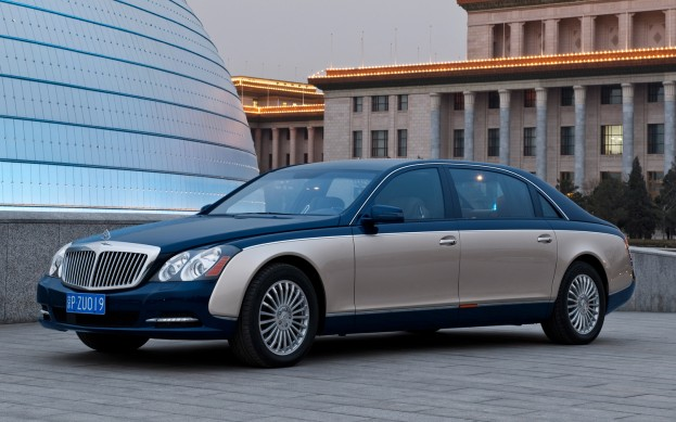 2014 Maybach 62 Wallpaper