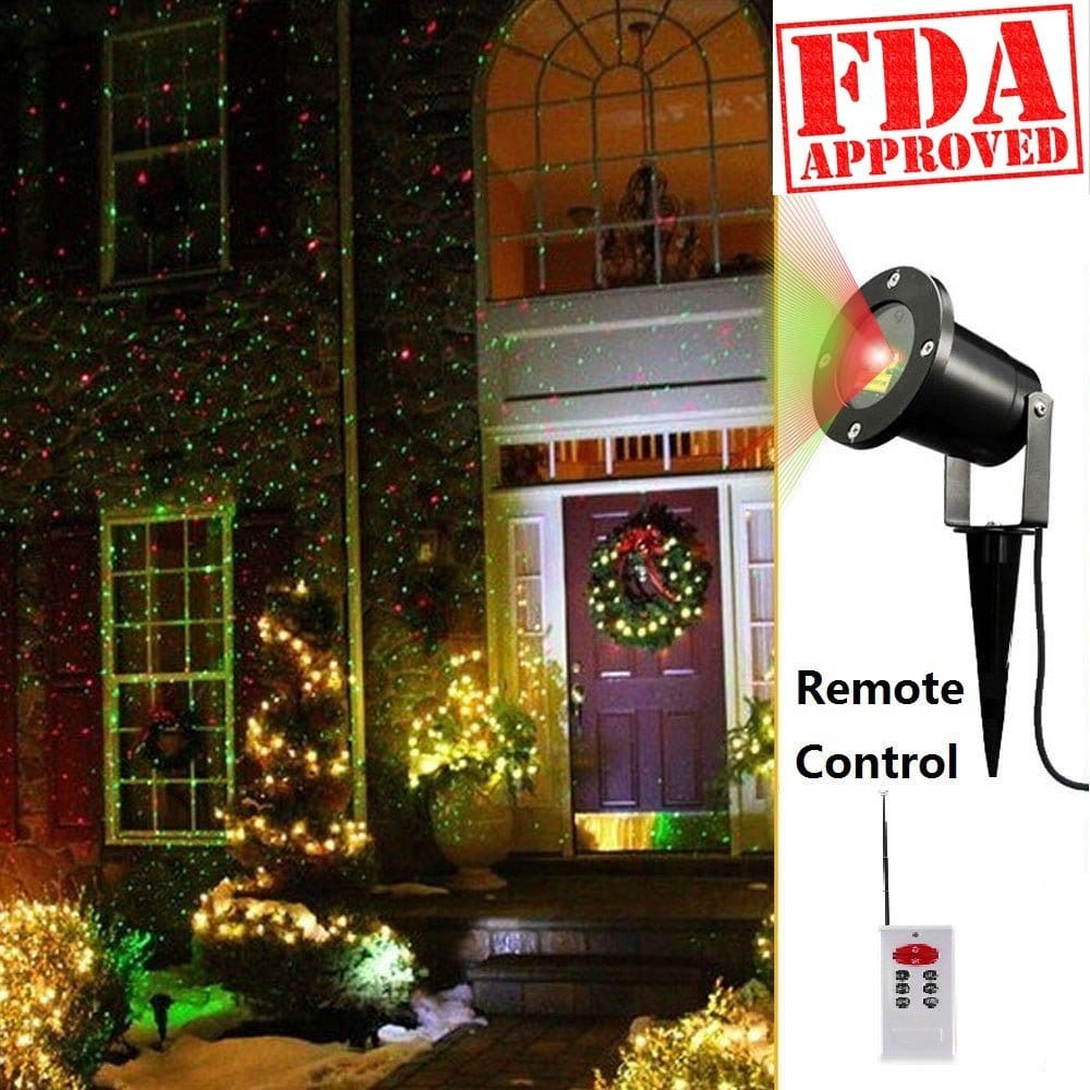 Top 10 Best Outdoor Laser Projector Lights for Christmas Decoration in 2015 Reviews