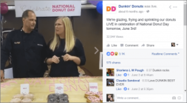 live-video-dunkin-donuts