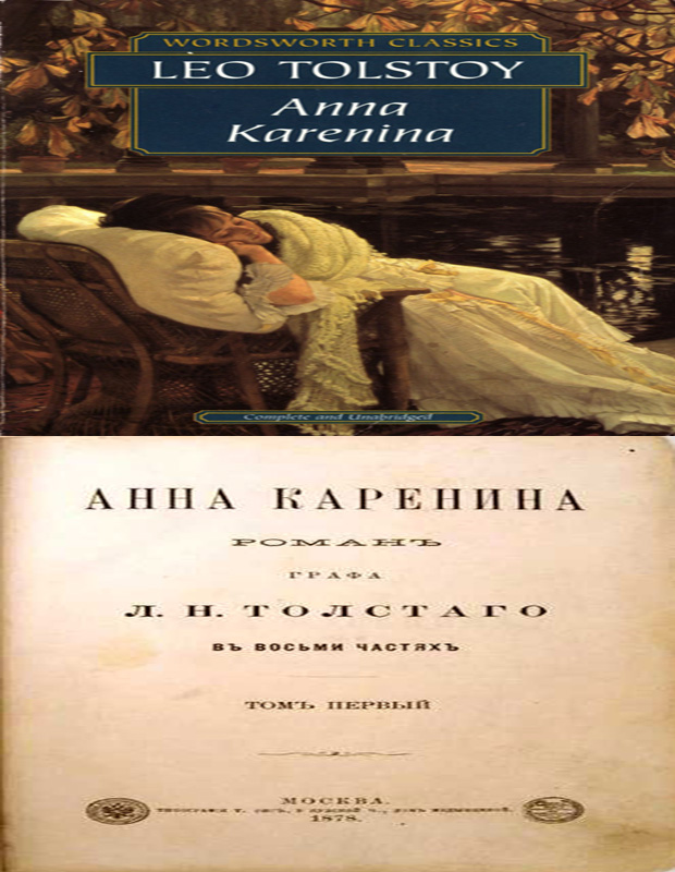 Anna Karenin cover photo