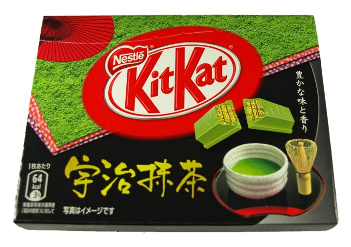 matcha tea kit kat japanese