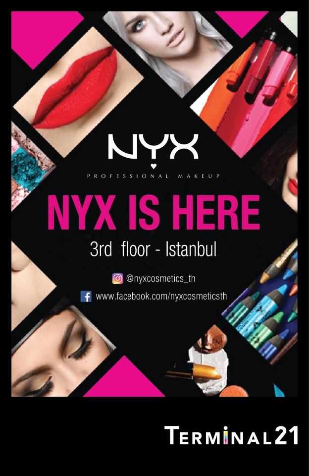 NYX terminal Scroller