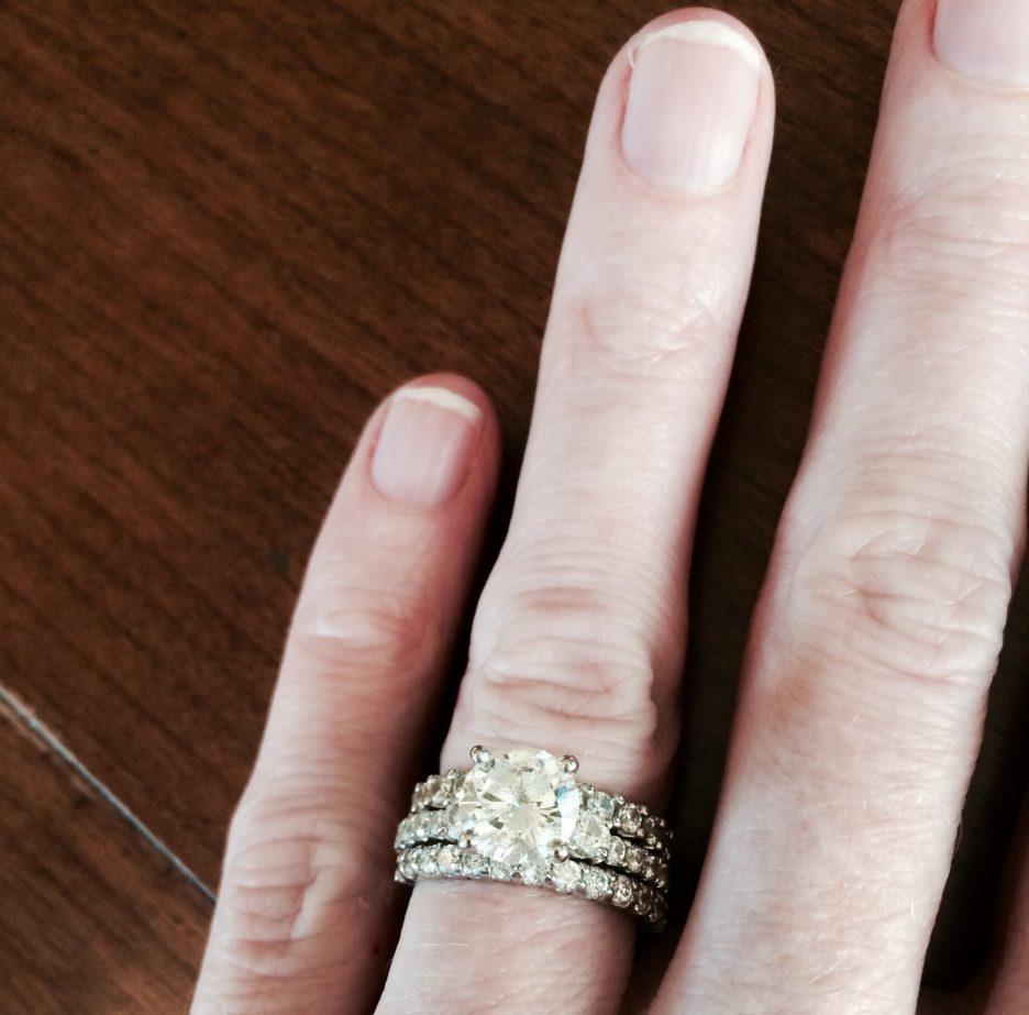 Fullsize Of Engagement Ring Finger