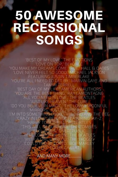 Elegant How To Plan Your Wedding Reception Music Recessional Songs Wedding Recessional Songs Hip Hop Wedding Recessional Songs String Quartet