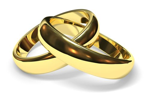 Medium Of Gold Wedding Rings