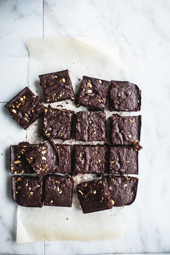 Flourless Browned Butter Brownies {Gluten-Free + Grain ...