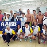 Natação: AABB domina piscina da UFJF na 3ª Etapa do Meeting Masters. Veja fotos