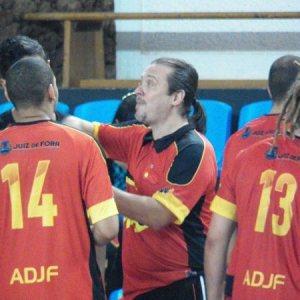 Treinador Carlos Dias elogiou a evolução de seus atletas durante a competição