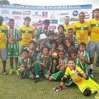 Lançamento, tabelinha e gol! Sport é campeão dente-de-leite da Copa Prefeitura Bahamas de Futebol Amador 2014