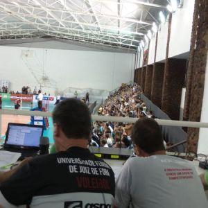 Transmissão e equipe completas: rádio web do Toque de Bola levou para todo o Brasil as emoções da vitória da Federal sobre Taubaté/Funvic
