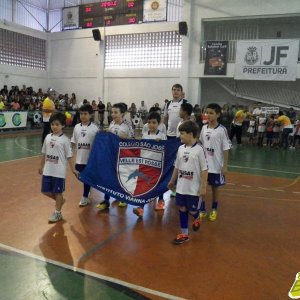 Copa Prefeitura Bahamas de Futsal 2015 (Foto: desfile de abertura - Arquivo Toque de Bola)