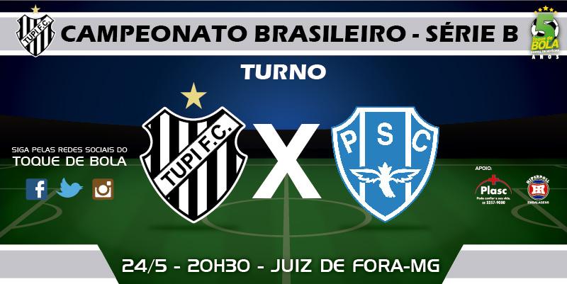 Em busca da primeira vitória na Série B, Tupi anuncia mudanças diante do Paysandu. Siga pelo Toque