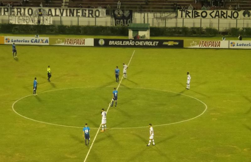 Tupi empata em 1 a 1 com o Avaí e perde a chance de sair do Z-4 da Série B