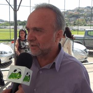 Presidente Jorge Ramos conversou com o Toque de Bola