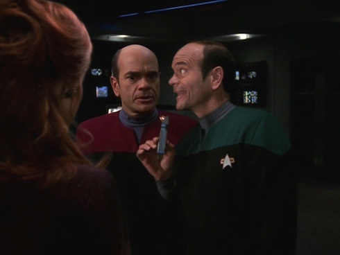 I like My Coffee Black and My Crew Lost: Six Voyager Episodes Worth Re-Watching