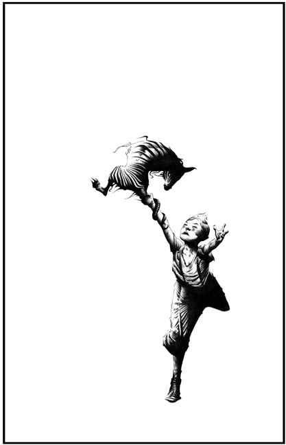 The Wind Through The Keyhole art copyright Jae Lee