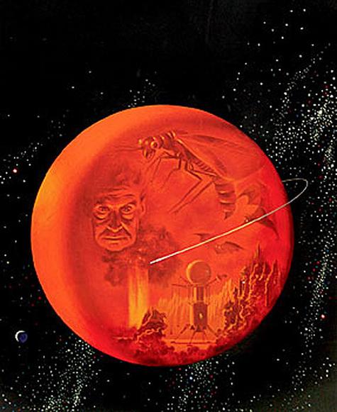 Dean Ellis' The Martian Chronicles.