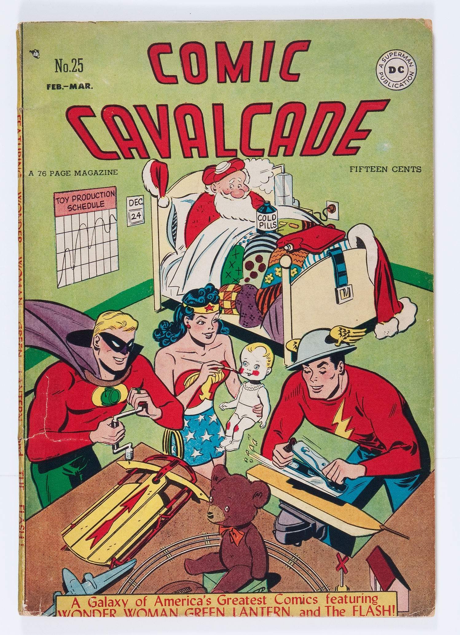 Figure 5: Comics Cavalcade 25 Feb-Mar 1947