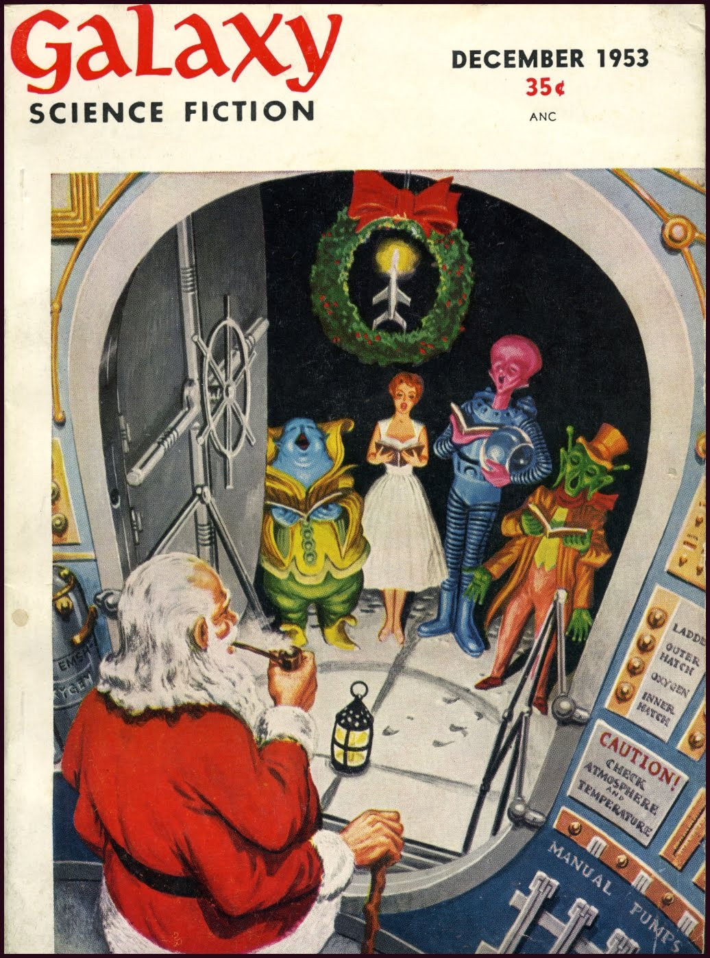 Figure 7: Galaxy Magazine December 1953