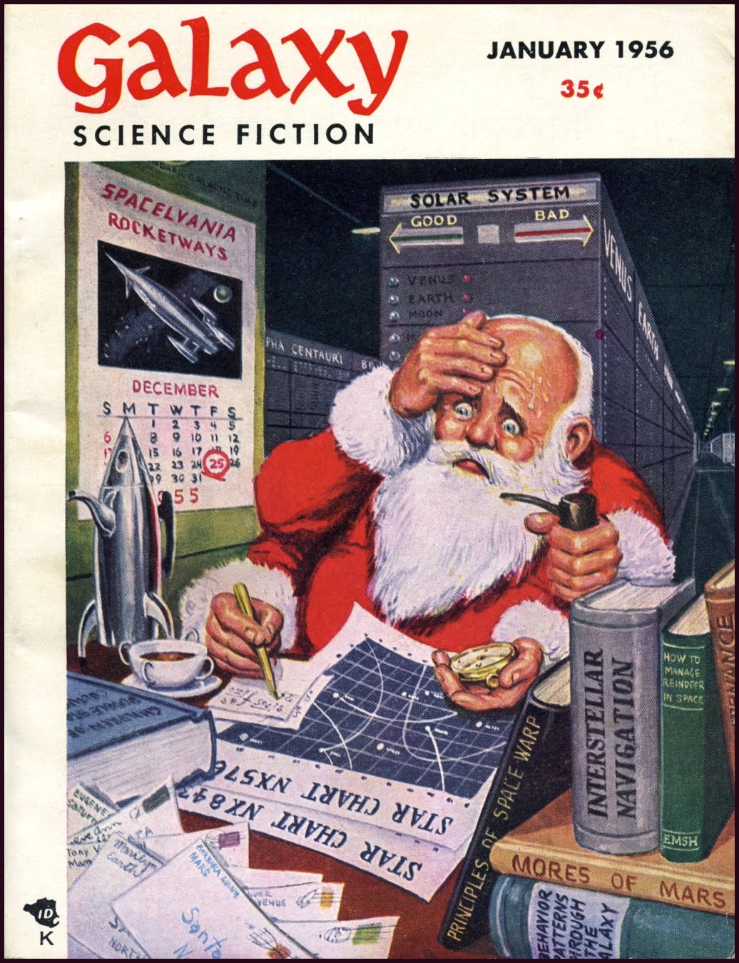 Figure 9 Galaxy Magazine January 1956