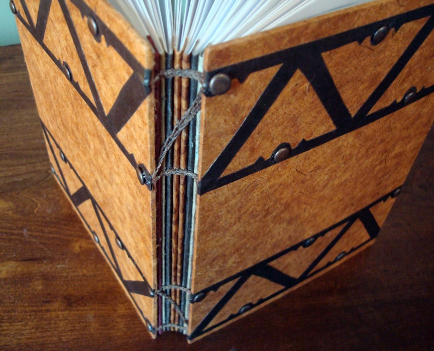 Interview with bookbinder Whitney Sorrow