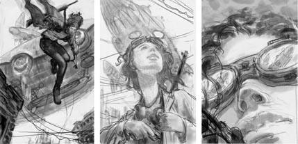 Jon Foster, Boenshaker sketches