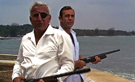 8 Essential Eyepatches in Science Fiction James Bond Sean Connery Thunderball