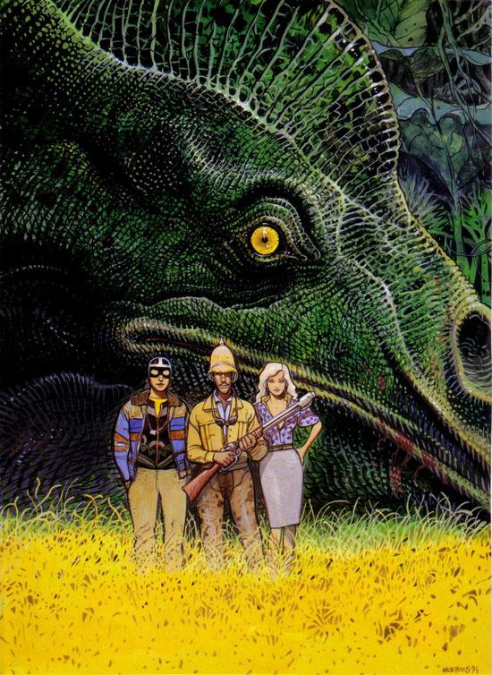 Moebius, dinosaur