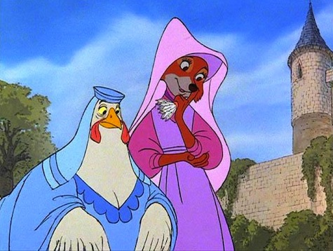 Disney Robin Hood Maid Marian Lady Kluck