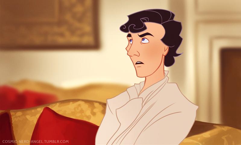 Sherlock Disney storybook A Scandal in Belgravia